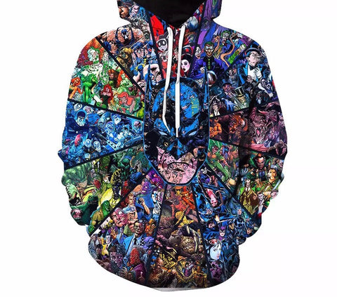 Chronicles of Batman Hoodie