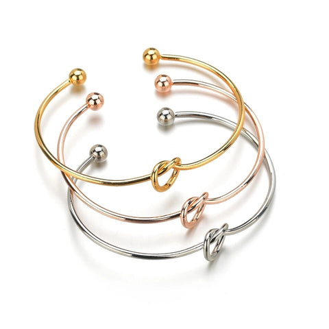 Love Knot Bangle (4 colour choices)