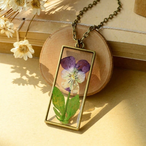 Botanical Pendant Necklace