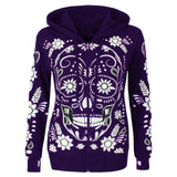 Candy Skull Hoodie (4 colour choices)