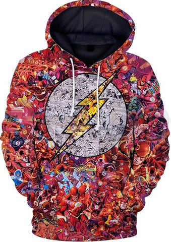 Chronicles of The Flash Hoodie