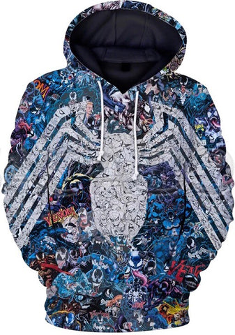 Chronicles of Spiderman Hoodie