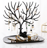 Deer Jewellery Display Tree Organizer with Tray (2 colour choices)