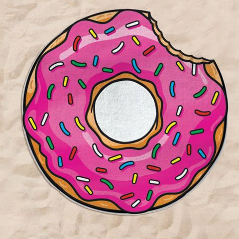 150cm Large Round Donut Beach Towel