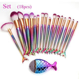 Mermaid 18-Piece Makeup Set