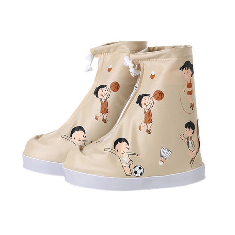 Cute Kids Waterproof Shoe Covers
