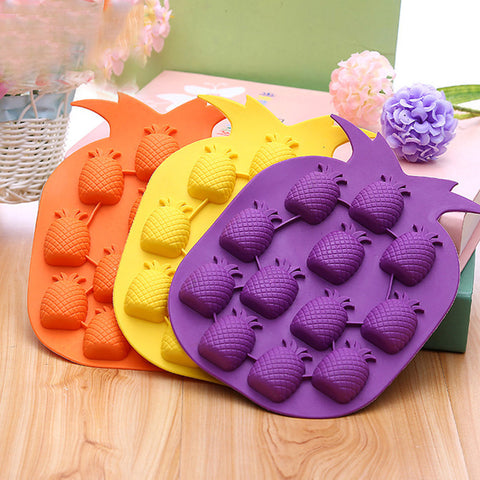 Pineapple Silicone Ice Mould