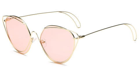 Women's Round Fashion Sunglasses