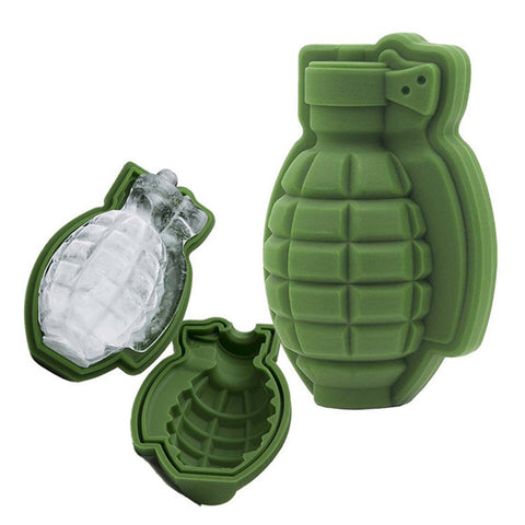 Grenade Silicone Ice Mould