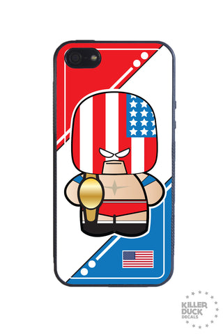 American Luchador iPhone Case