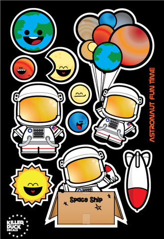 Astronaut Sticker Pack