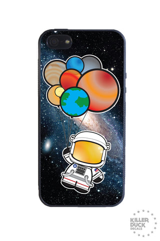 Astronauts Day Out iPhone Case
