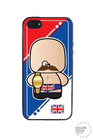 British Luchador iPhone Case