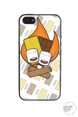 Campin' S'mores iPhone Case