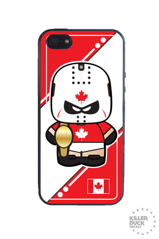 Canadian Luchador iPhone Case