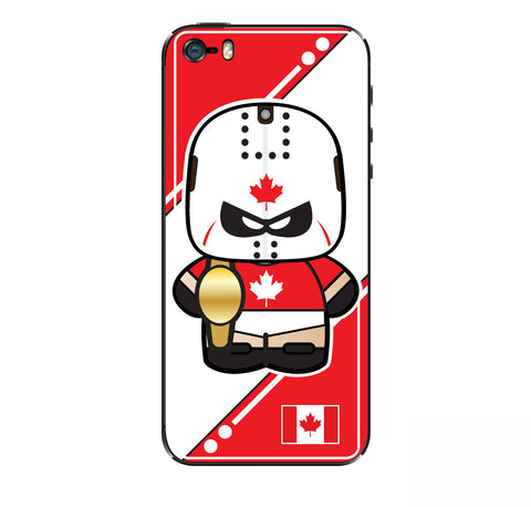 Canadian Luchador iPhone Skin