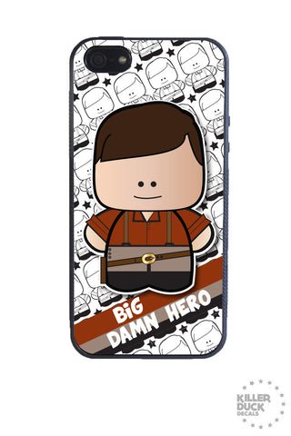 Big Damn Hero iPhone Case