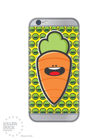 Peas and Carrot iPhone 6 Skin