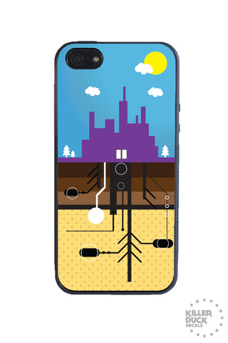 City Underground iPhone Case