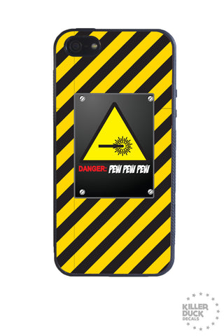 Danger Laser iPhone Case