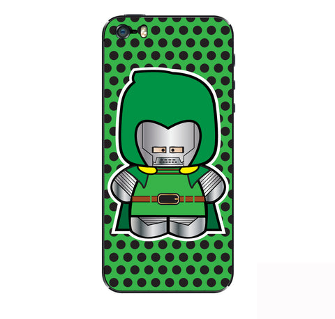 Dr Doom iPhone Skin