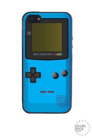 Gameboy Color Blue iPhone Case