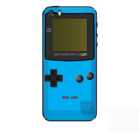 Gameboy Color Blue iPhone Skin
