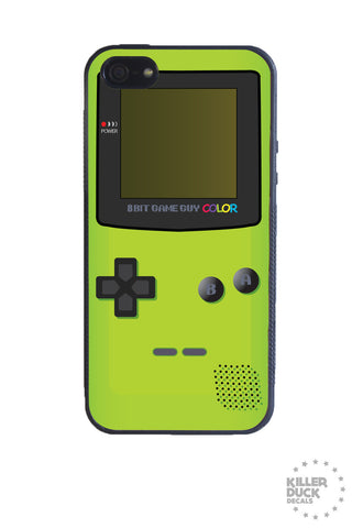 Gameboy Color Green iPhone Case