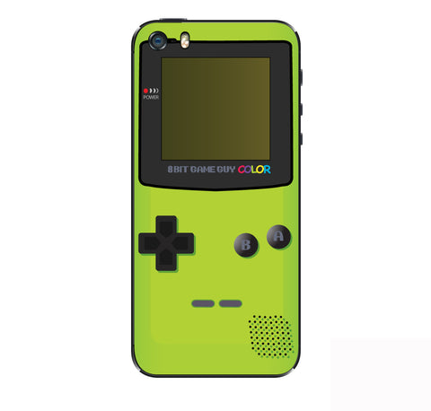 Gameboy Color Green  iPhone Skin