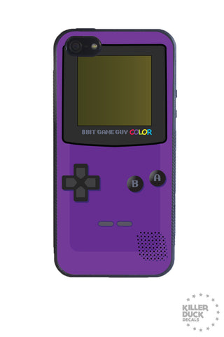 Gameboy Color Purple iPhone Case