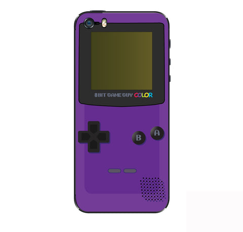 Gameboy Color Purple   iPhone Skin
