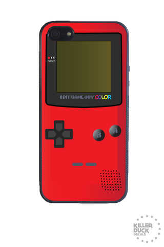 Gameboy Color Red iPhone Case