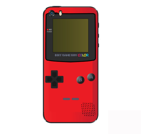 Gameboy Color Red  iPhone Skin