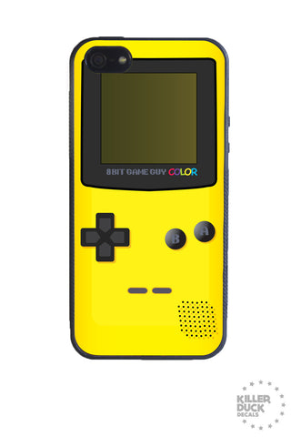 Gameboy Color Yellow iPhone Case