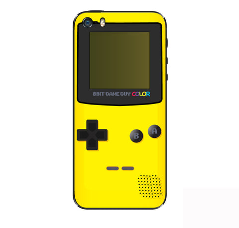 Gameboy Color Yellow  iPhone Skin