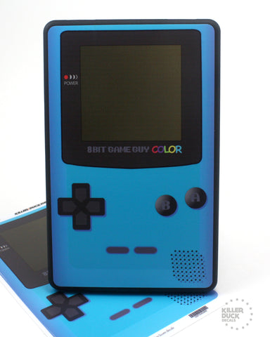 Gameboy Color Blue Kindle Fire skin