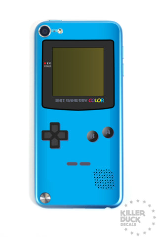 Gameboy Color Blue iPod skin