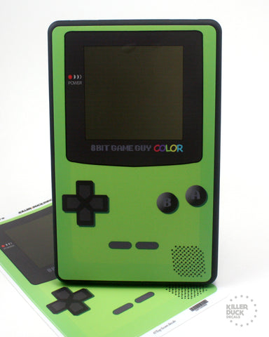 Gameboy Color Green Kindle Fire skin
