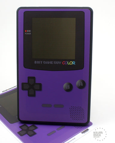 Gameboy Color Purple Kindle Fire skin