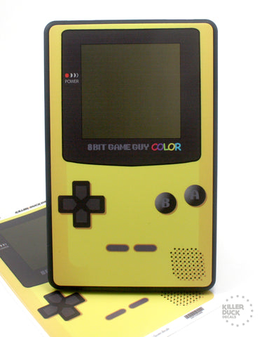 Gameboy Color Yellow Kindle Fire skin