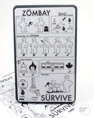 Ikea Zombie Kindle Fire skin