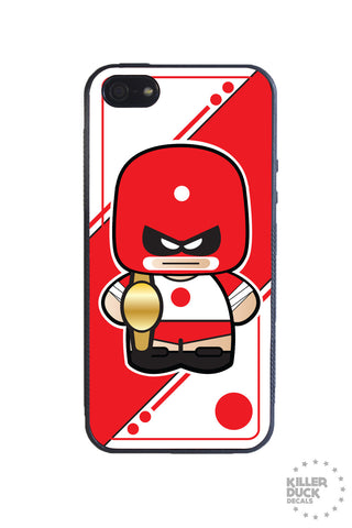 Japanese Luchador iPhone Case