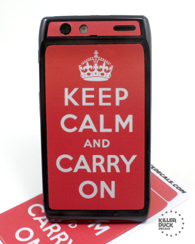 Keep Calm and Carry OnRazr Skin