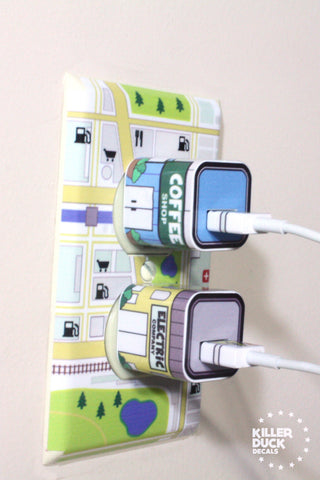 Apple Outlet Map Skin