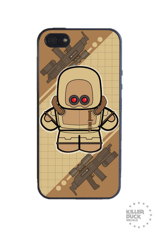 Mech Army Desert iPhone Case