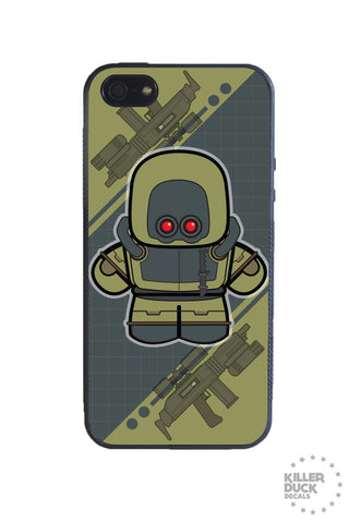 Mech Army Jungle iPhone Case