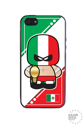 Mexican Luchador iPhone Case