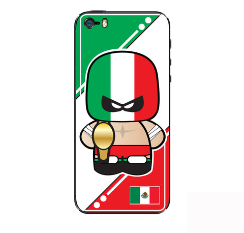 Mexican Luchador iPhone Skin