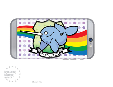 Narwhal iPhone 6 Skin