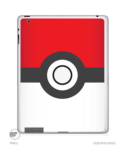 Pokeball iPad Skin